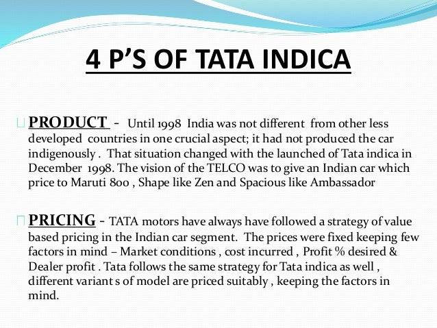Tata indica the making of the small car for Sliding gate motor price in india