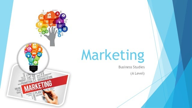 Marketing Business Studies (A Level)