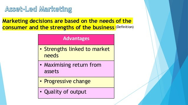 The Advantages of Marketing Orientation