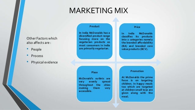 market mix and strategy of mcdonalds india Amit jatia, managing director, mcdonalds india,  5 marketing mix strategy  the market share is not only for mcdonalds because there are.