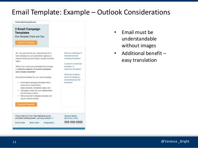 Marketing Automationtemplates - Email marketing templates for outlook