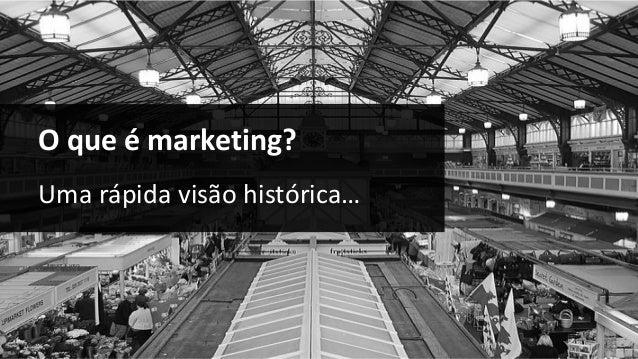 O que é marketing? Uma rápida visão histórica…