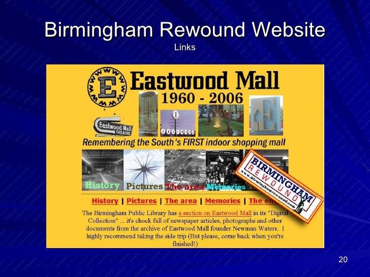 Birmingham Rewound Website Links