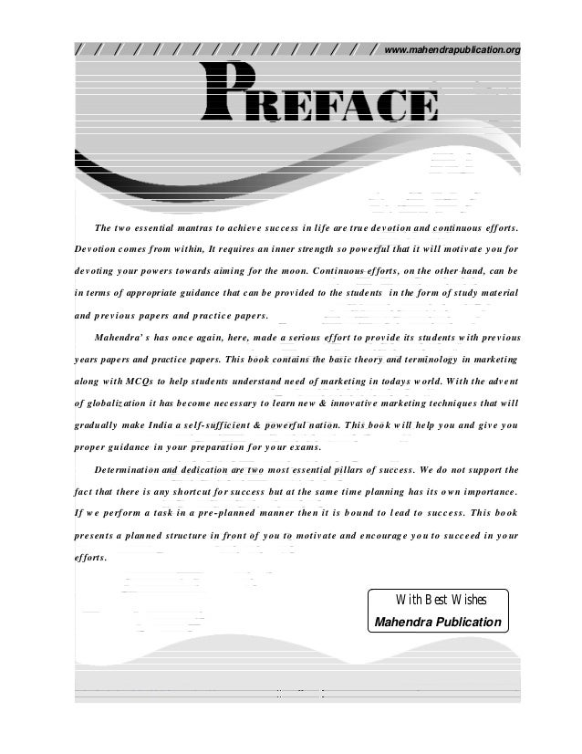 Mahendra Publication Pvt. Ltd. 3 www.mahendrapublication.org MASTER IN MPARKETING The two essential mantras to achieve suc...