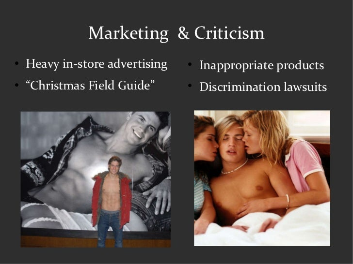 "Marketing  & Criticism <ul><li>Heavy in-store advertising </li></ul><ul><li>"" Christmas Field Guide"" </li></ul><ul><li>Ina..."