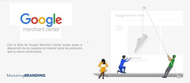 Marketing Branding Google Merchant Center Brochure