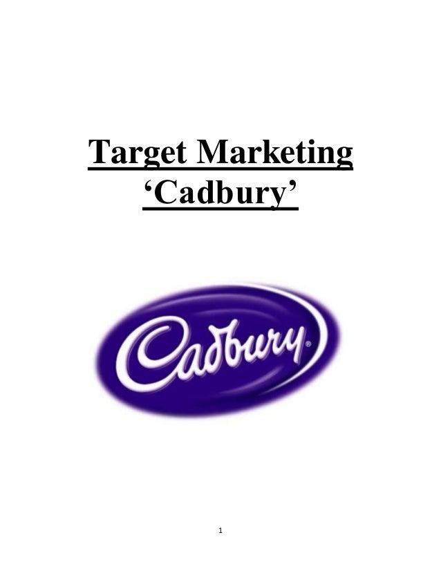 1 Target Marketing 'Cadbury'