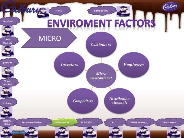 macro environment cadbury chocolate Partnership to secure the economic, social and environmental sustainability of  cocoa production in ghana, funded by cadbury, showed that the average.