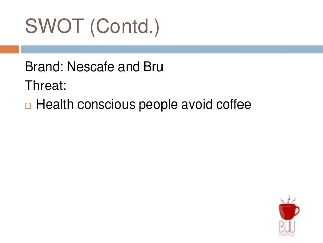 bru and nescafe sales and marketing strategies View anubhuti sharma's profile on linkedin,  the project undertaken was comparative analysis of bru & nescafe  manager- sales, marketing .