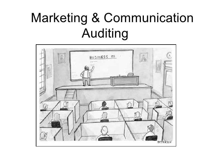 Marketing & Communication Auditing