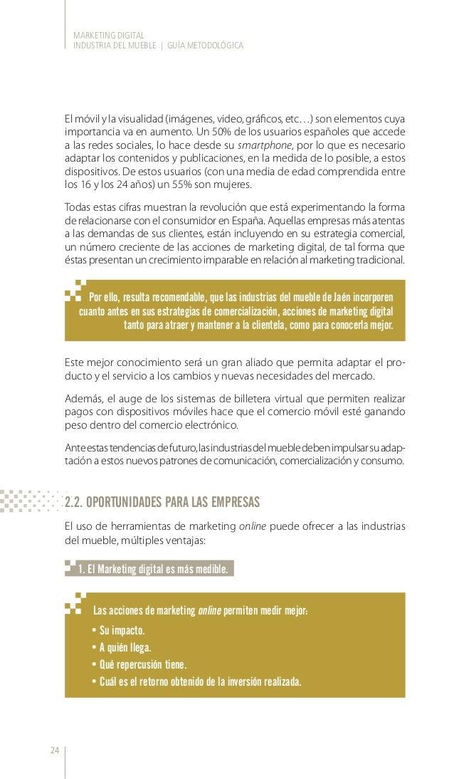 Guía marketing digital sector del Mueble