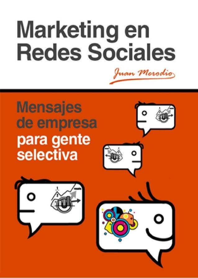 Marketing en Redes Sociale  1 Portada: http://www.turiskopio.com