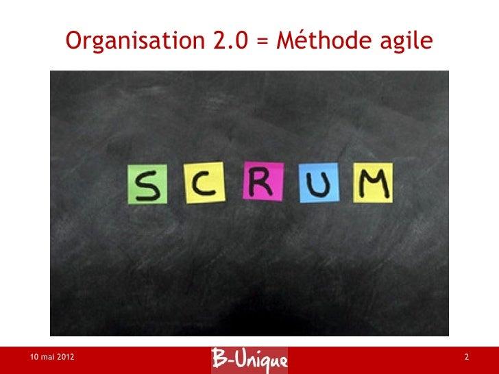 Organisation 2.0 d'évènement 1.0 Slide 2