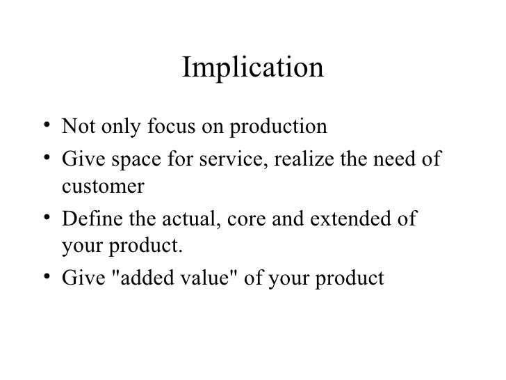 production and consumption inseparability View test prep - chapter 12docx from badm 242 at san juan college, farmington chapter 12 ~ 28 of 35 1 inseparability is defined as the inability of the production and consumption of a service to.