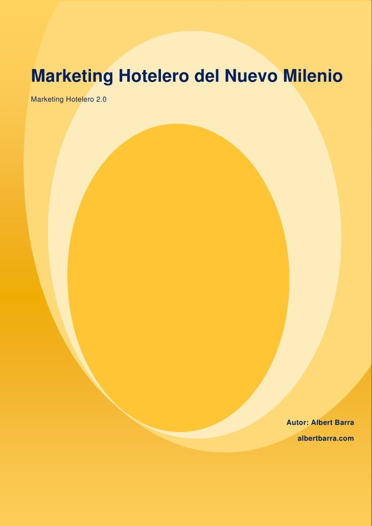 Marketing Hotelero del Nuevo Milenio                                                                                      ...