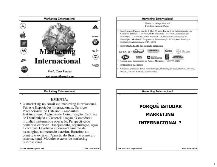 Marketing Internacional                                                Marketing Internacional                            ...