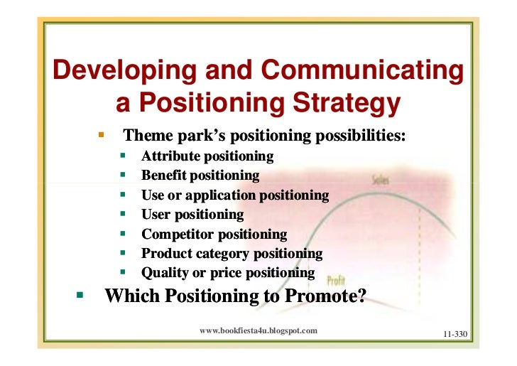 how to write a positioning strategy