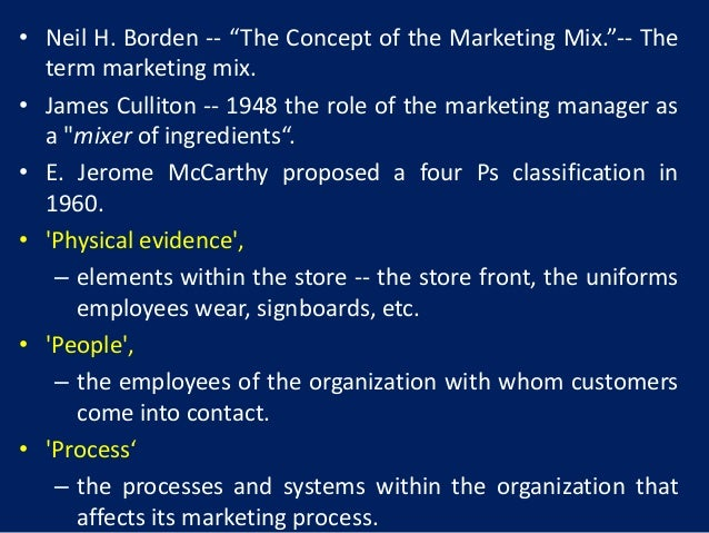 Definition And Scope Of Marketing