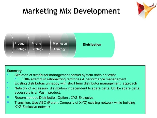 develop marketing mix strategy In this article, we'll review how to develop an effective mix of marketing tactics that  serve an overarching marketing strategy.