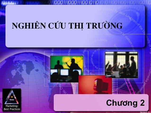 Nghiªn cøu thÞ tr−êng                 Ch−¬ng 2                        Harcourt, Inc.