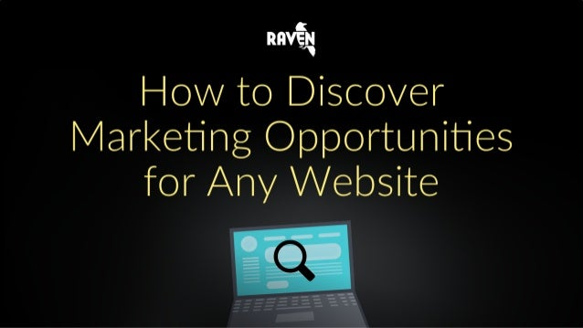 How to Discover Marketing Opportunities For Any Website