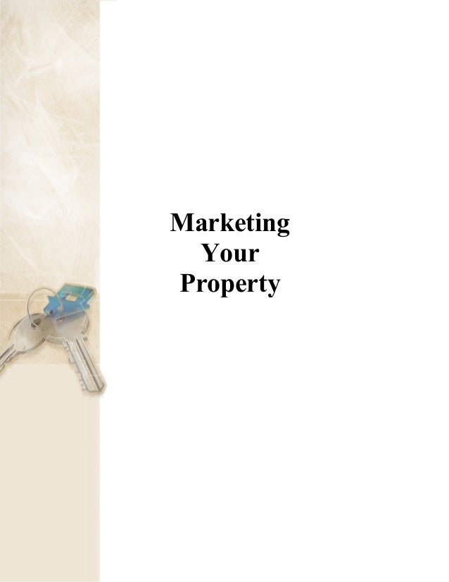 Marketing Your Property