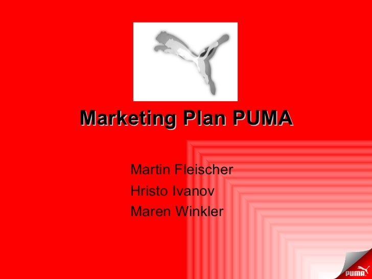 Puma Marketing Mix (4Ps) Strategy