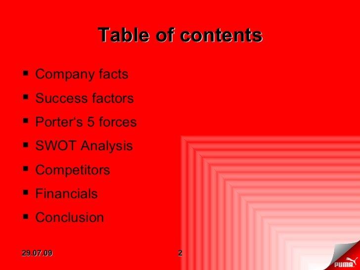 Porter analysis of kfc success factors