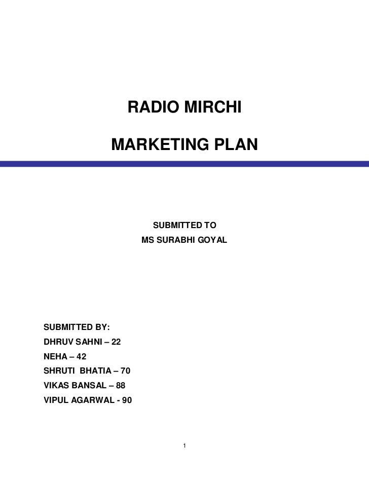 MULTI-STATION AND BUSINESS PLANS