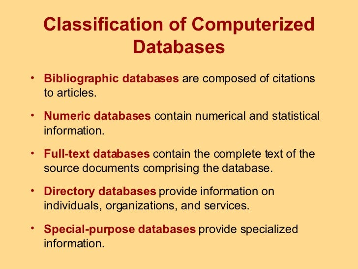 Chapter 4: data and databases – information systems for business.