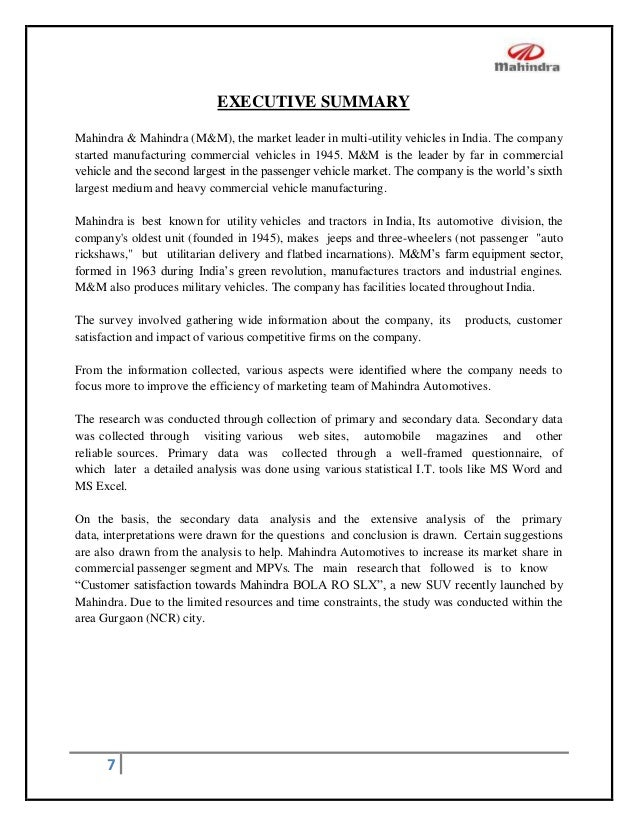 research paper on customer satisfaction in automobiles