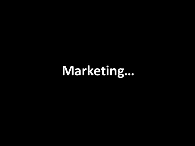 Marketing…