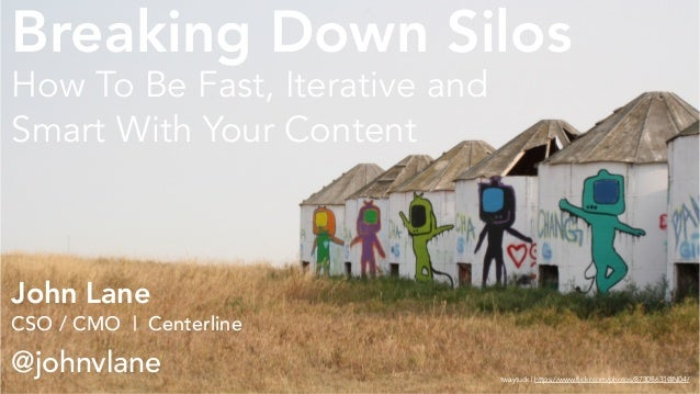 John Lane CSO / CMO | Centerline @johnvlane How To Be Fast, Iterative and Smart With Your Content twaytuck | https://www.f...