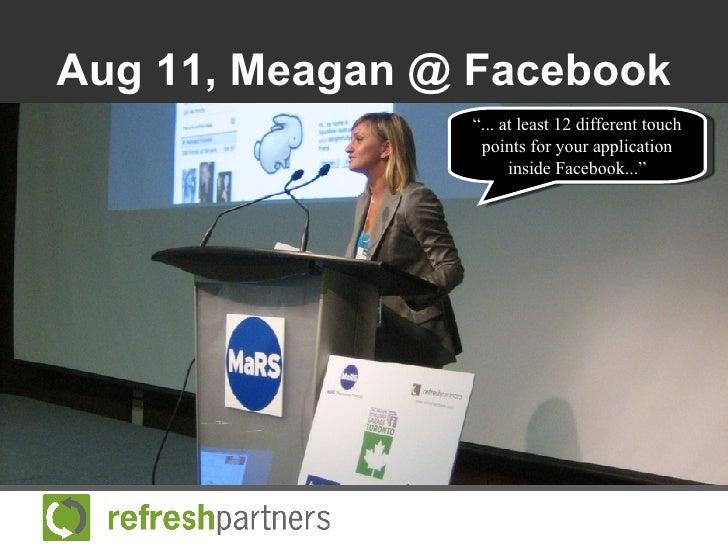 Marketing your Application Inside Facebook Slide 2