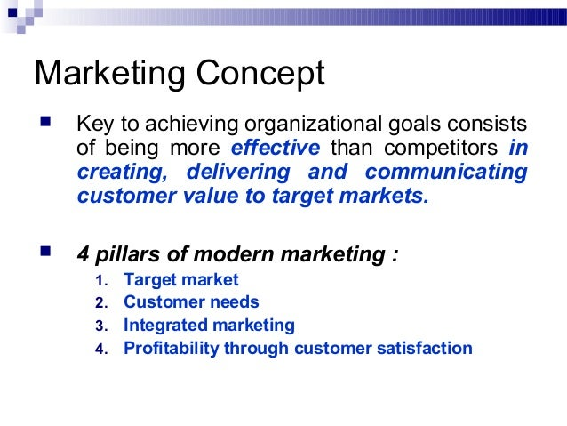 marketing and fundamental concepts There are numerous marketing concepts which are used by marketers as a reference in the marketing field some of these marketing concepts exist to date whereas some others are outdated and have been taken over by other marketing concepts these marketing concepts form the basics of the marketing.