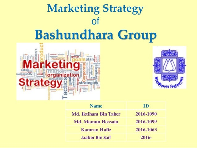 marketing plan of 'bashundhara tissue industries Bashundhara tissue industries ltd, is a promising enterprise of bashundhara group of companies established at anarpura, gazaria under munshigonj district 35 km industries ltdll as in international markets btil consists of two paper manufacturing plant with required utility and service equipment.