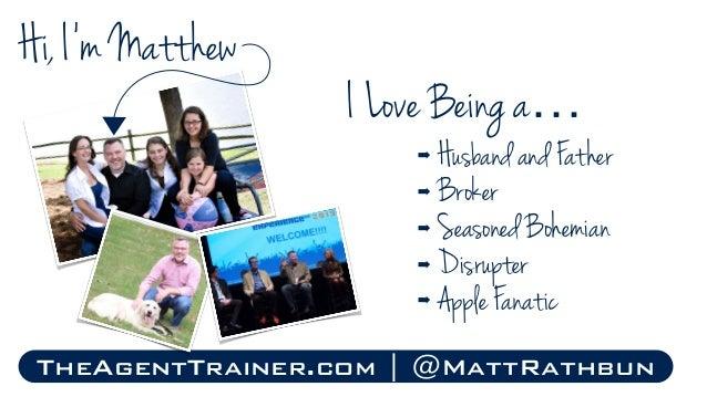 Real Estate Marketing Through Story Telling 101   Matthew Rathbun Slide 2