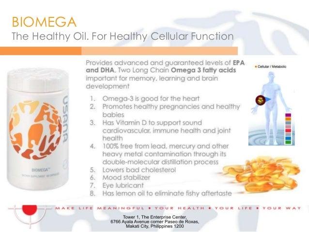 Marketing 101 v15 mistah presentation for Usana fish oil