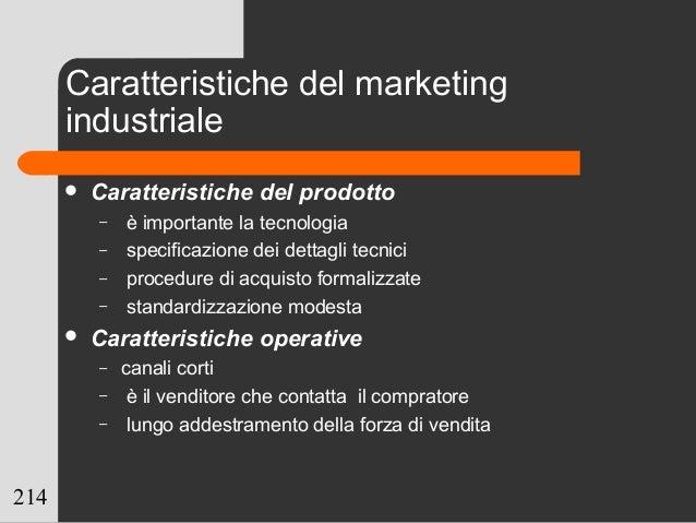 214  Caratteristiche del prodotto – è importante la tecnologia – specificazione dei dettagli tecnici – procedure di acqui...