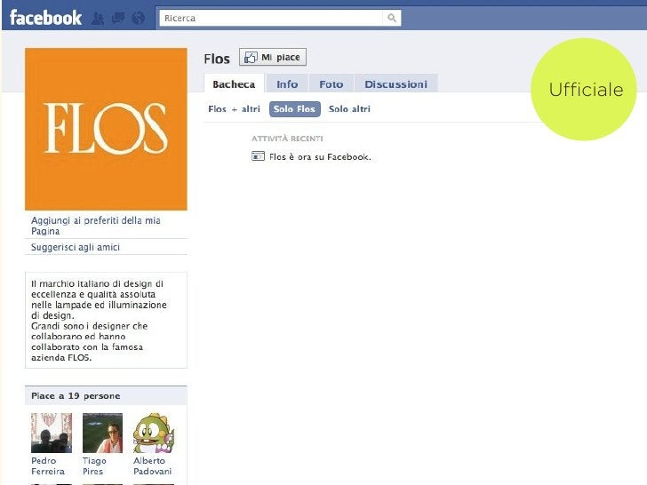 Social networkverticali                 Community                         collegata a un                             brand...