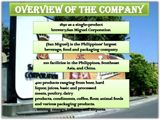 marketing mix of san miguel corporation 10 step marketing plan for san mig light michael b tolentino february 2010   5 steps for part 2 (marketing mix & strategy) san mig light 330 ml bottle   mig light coors light san miguel pale pilsen lone star light red horse colt  45 price vs  group 7 san miguel corporation (case study.