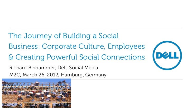 The Journey of Building a SocialBusiness: Corporate Culture, Employees& Creating Powerful Social ConnectionsRichard Binham...