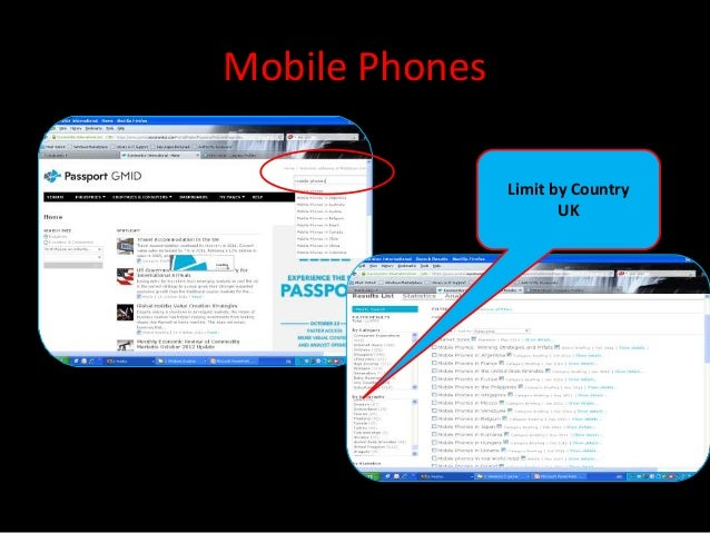 Mobile Phones                Limit by Country                       UK