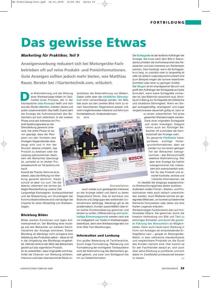 MG Forbildung-frei.qxd        28.01.2008              14:08 Uhr   Seite 23                                                ...