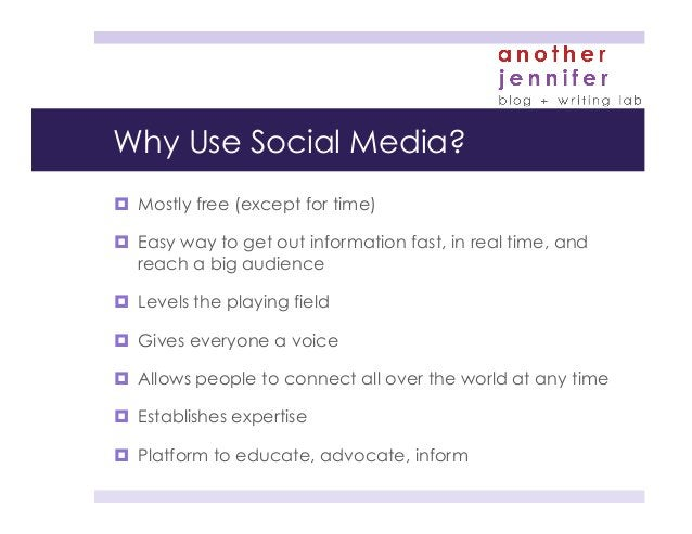 Social media best practices ¤ Have a strategy (tweak as needed) ¤ Be consistent with your branding (images, messages, ...