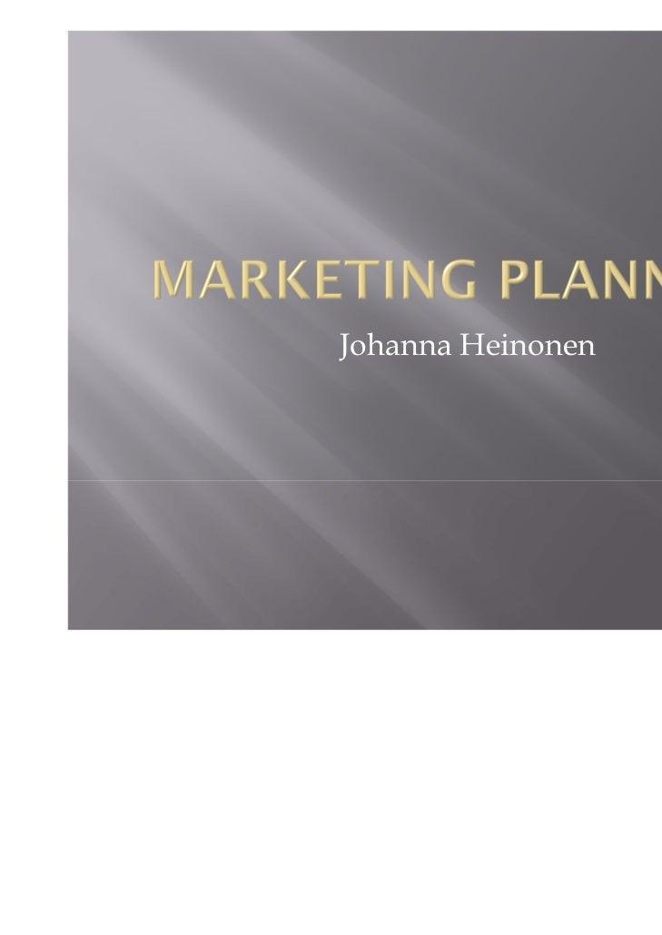 Johanna Heinonen