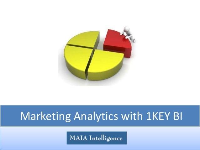 Marketing Analytics with 1KEY BI