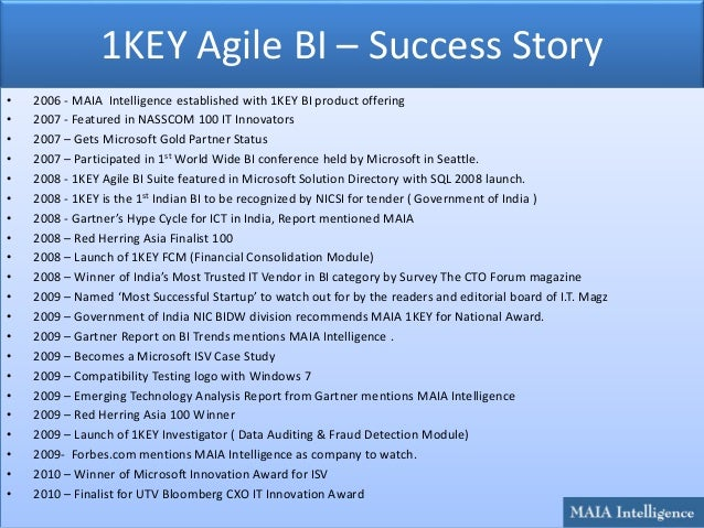 Marketing Analytics with Business Intelligence Slide 3