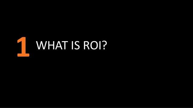 Marketing Analytics to Communicate ROI Slide 3