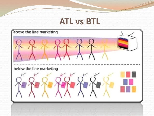 effectiveness of atl and btl advertising Finding out the effectiveness of below the line advertising retailing new microsoft office word document below the line advertising summer project.